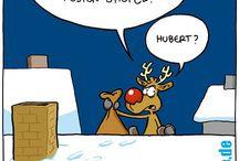 Comic Weihnachten