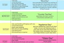 Cleaning - Schedules