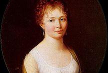 regency earrings (paintings & other)