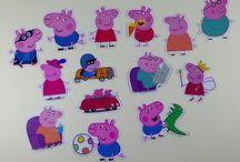 Festa Peppa Pig / Aqui você vai encontrar vários produtos para decorar a sua festinha no tema da porquinha rosa mais amada da criançada.