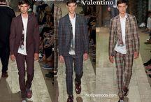 Valentino uomo / Valentino collezione e catalogo primavera estate e autunno inverno abiti abbigliamento accessori scarpe borse sfilata uomo.