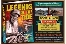 Legends of the Tide / Legends of the Tide is a 248 page coffee table book with 260 photos about the Seine-Netters and the roots of the Durban fishing industry. Written by Neelan Govender and Viroshen Chetty. Foreword by Kumi Naidoo (Greenpeace)