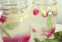 Infused Water / Detox water recipes / by Hiccups and Sunshine