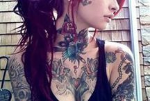 Tattooed Beauties