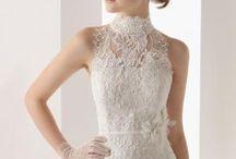 vestido de renda casório