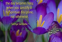 Divine Thoughts / Inspiring Teachings of Bhagawan Sri Sathya Sai Baba (for non-profit spiritual sharing only)