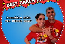 The Office Cake Franchise / How crazy is this?  Our quirky idea of starting an e-commerce cake delivery company is now a franchise!  We're really excited to teach others how to build their own cake business. It's been the best and, by far, the funnest job we've ever had and can't wait to see it sprouting all over the world!