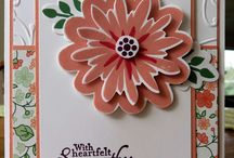 stampin up flowering patch