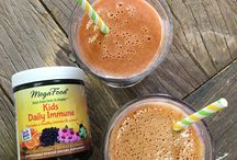 MegaFood Recipes / Exclusive recipes using MegaFood's Daily Nutrient Booster Powders: Original Formulations and now, new KIDS Boosters!