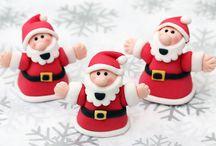 Christmas cake models