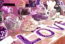 Cukorka ötlet esküvő asztal