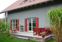 Haus / Fensterläden