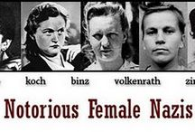 FEMALE NAZI: Hitler's Bad Girls / Nazi women were as bad as the men. If not worse. These women, Hitler's bad girls tortured and enjoyed their sadistic actions as long as the Third Reich lasted. But as soon as WW2 ended they faced inevitable justice. They were all hanged. The notorious of them were Irma Grese, Ilse Koch, Jenny Wanda Barkmann, Gerda Steinhoff, Elisabeth Becker and Wanda Klaff.