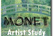 Homeschool - Art / Ideas for art class.