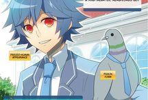 Manga ~ Hatoful Boyfriend.