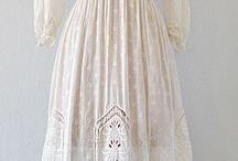 Edwardian lace dresses