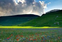 Krajina / Fotografie a obrazy krajiny