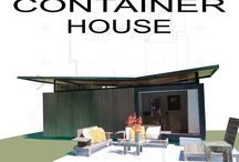 Shipping Container Homes & Pools / Think outside the box / by Mimi