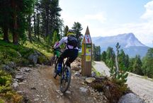 Biken in Nauders am Reschenpass / 3-Länder Enduro-Trails in Nauders am Reschenpass, der ideale Ausgangspunkt für alle Biker, die sich gerne auf steinigen Trails vergnügen