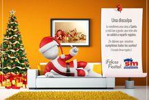 Te deseamos Felices Fiestas