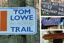 Trails I love to hike and bike / by Melissa Rae