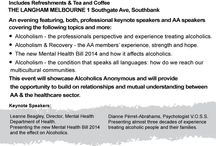 General Info - AA Victoria / Problem with alcohol?  AA may have the solution www.aavictoria.org.au  24 hr helpline (03) 94291833 Melbourne Victoria Australia