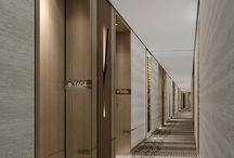 hotel 廊下