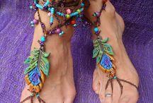 DIY Barefoot Sandals & Anklets