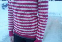 strikkaejakka og gensere