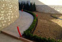 Quelques réalisations ! / Grâce à EverEdge et à sa flexibilité à toute épreuve, certains paysagistes ont pu améliorer des jardins voire même les créer de A à Z ! Voici quelques exemples.