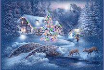 Weihnachtsszenen