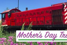 Mother's Day / Mothers ride for FREE on our Mother's Day Train Rides! Get your tickets now to reserve your seats and avoid disappointment! Plus, check out some of our fav Mother's Day pins here! https://tickets.waterloocentralrailway.com/search