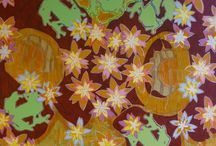 Jeannette Kommer Canvas / Geometric and natural patterns