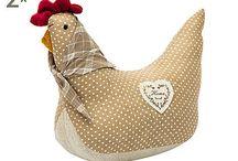 patrones de gallinas