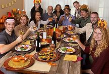 Friendsgiving Party Ideas / Throw a fabulous friendsgiving feast! Gather the gang for a night of food, friends and fun! With our fresh spin on Thanksgiving food & drinks ideas, you'll be sure to please everyone! / by Party City