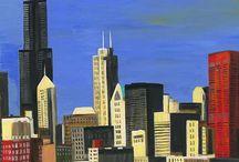 Chicago / scenes, landmarks and art