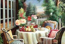 Festmények tájkép