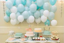 baptism decoration baloons