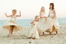 Flower Girls & Ring Bearers / Flower girls and ring bearers and all things for kids in the wedding.  / by Idojour