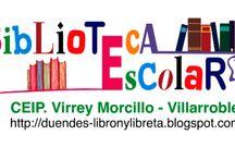 BERED-Nuestras bibliotecas escolares / Para enlazar al blog o web de cada una de nuestras bibliotecas