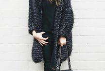 Inspiration styles with Kiro by Kim knit / Chunky knits/ fashion knits / bloggers / outfits/ cozy knits
