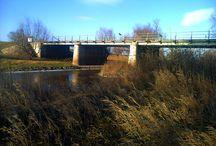 Fagyott világ. / Ágotai-puszta, Szentágotai-híd és zsilip,  Zádor-híd.
