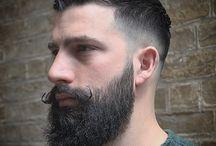 corte de cabelo e barba