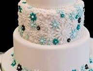 Teal and Turquoise Wedding / Teal and turquoise wedding theme color