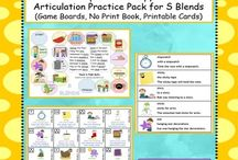 ARTICULATION:  SLP Blog Posts & TpT Materials / Find all the latest and best TpT Articulation materials and Blog posts in one spot.