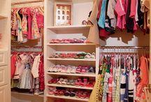 Audrey's closet