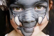 Face painting: Savana