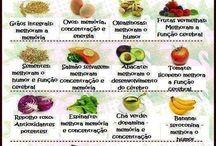 Alimentos para o cérebro.