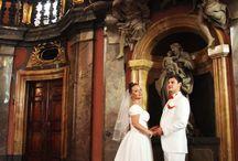 Свадьбы в Чехии. / Свадьбы. Неформальные кадры.