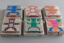 wooden animal cubes / the wooden cubes animal toy for children, developing logic and fantasy. You can buy it for 15 eur